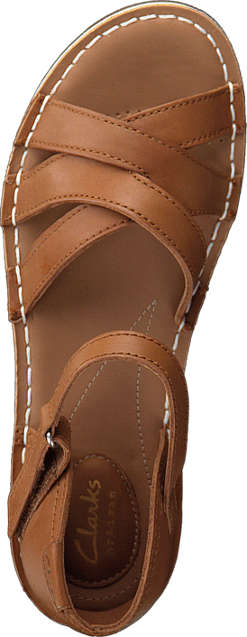 Clarks - Tustin Sahara Tan Leather