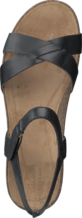 Clarks - Temira Compass Black Leather