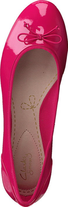 Clarks Couture Bloom Fuchsia Patent