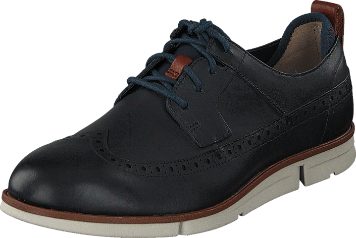Clarks Trigen Limit Navy Leather