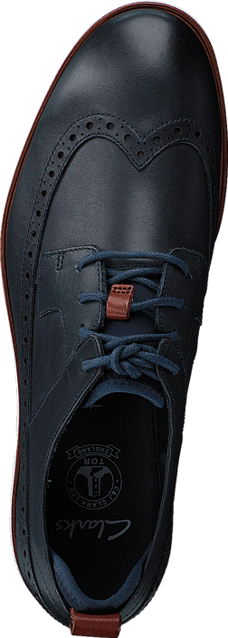 Clarks - Trigen Limit Navy Leather