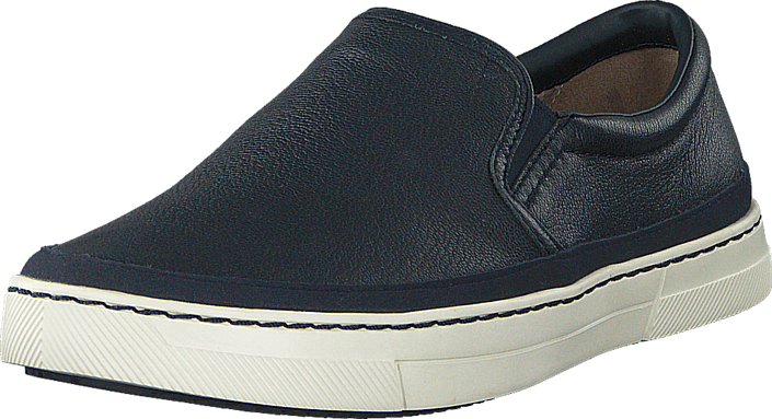 Clarks - Ballof Step Navy Leather
