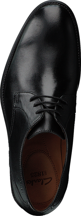 Clarks Kolby Walk Black Leather