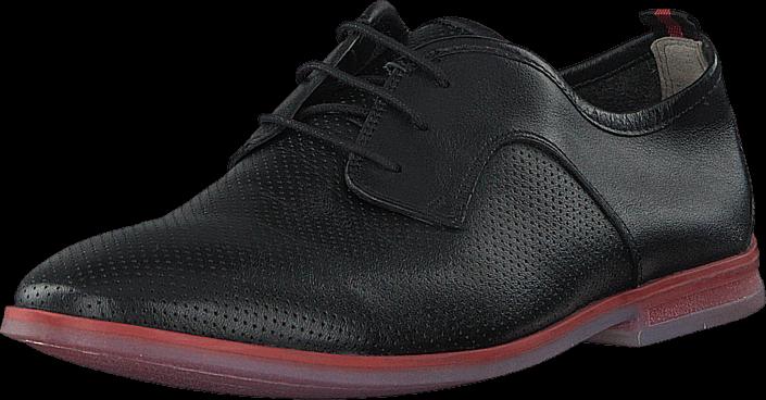 Clarks - Frewick Walk Black Leather