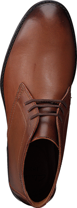 Clarks - Hawkley Rise Tan Leather