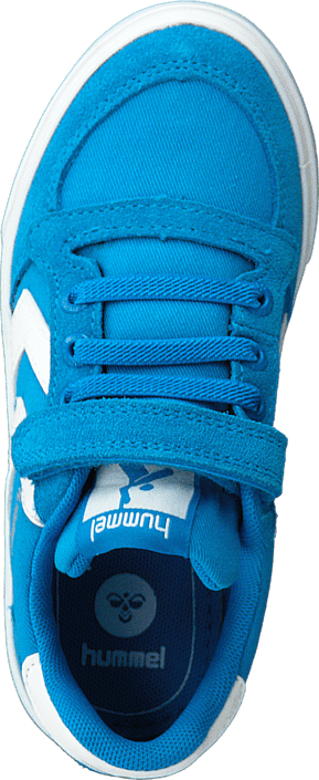Hummel - Slimmer stadil canvas low Methyl blue