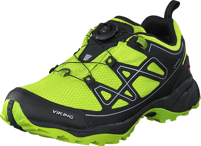 Viking - Anaconda Boa 4  Jr. GTX Lime/Svart
