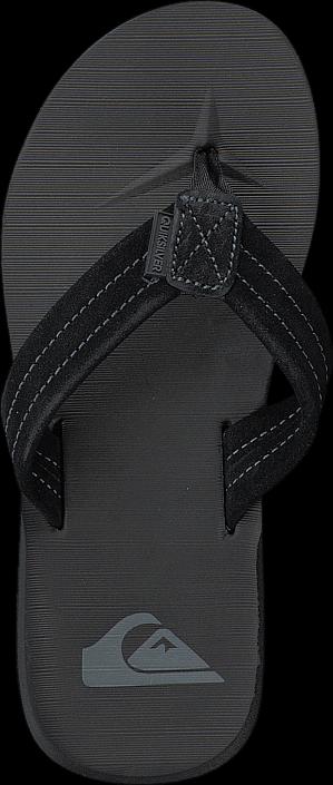 Quiksilver - Qs Carver Suede M Sndl Solid Black