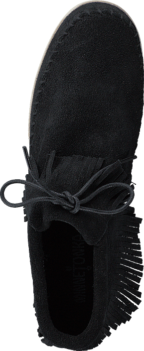 Minnetonka - Venice Black Suede
