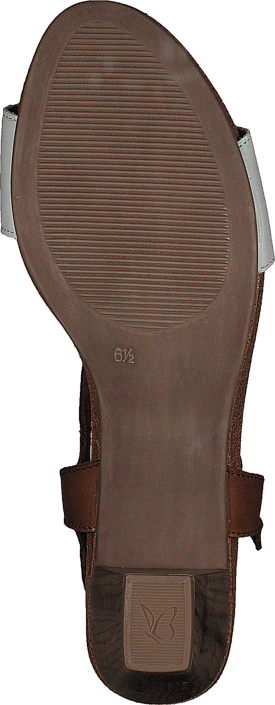 Caprice - Chenoa Cognac/Offwht