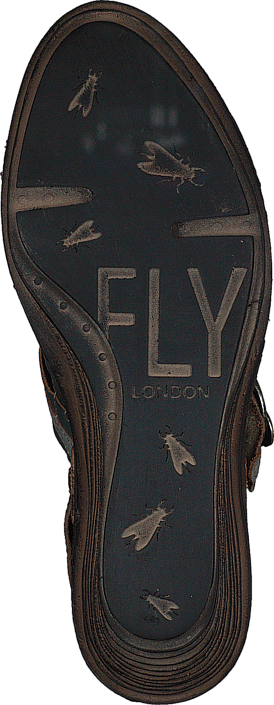 Fly London Salm Dielsel/Ice/Antrasite