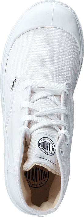 Palladium Blanc Hi Kids 52784-154 White