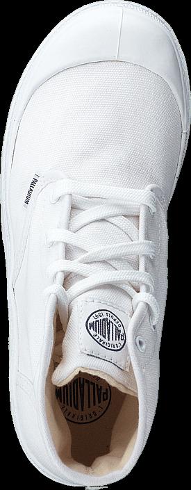 Palladium - Blanc Hi Kids 52784-154 White