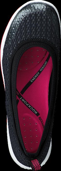 Rockport Walk360 Black/Fuschia Washable