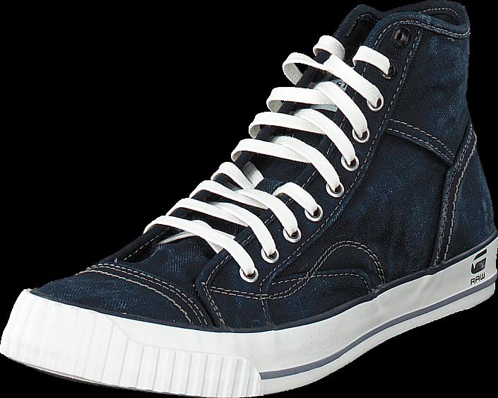 g-star-raw-falton-washed-hi-raw-kengaet-sneakerit-ja-urheilukengaet-korkeavartiset-tennarit-musta-miehet-40