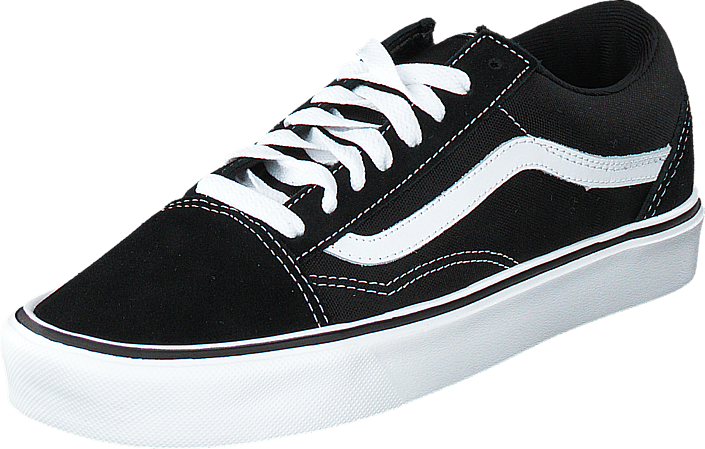 Vans - Old Skool Lite + (Suede/Canvas) Black/White