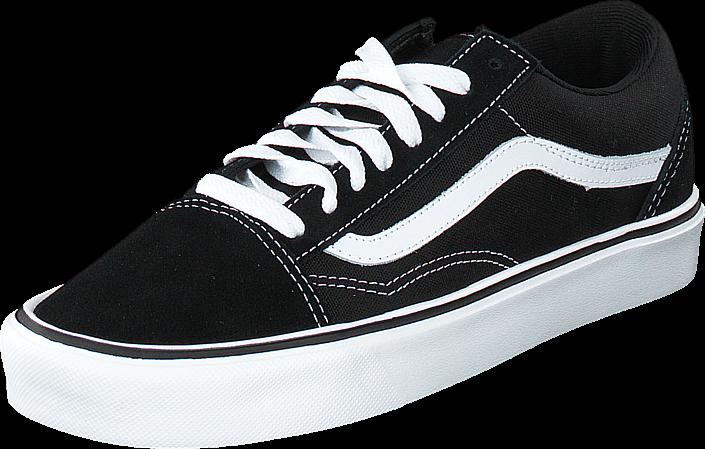 Vans - Old Skool Lite + (Suede/Canvas) Black/White