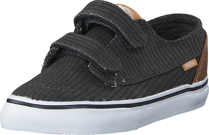 Vans - Brigata V (Washed Herringbone) Jet Black