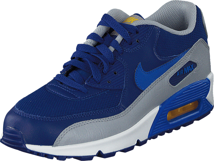 Nike - Nike Air Max 90 Mesh (Gs) Dp Ryl Blue/Hypr Cblt-Vrsty Mz