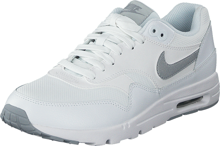 Nike W Air Max 1 Ultra Essentials White/Wlf Gry-Pr Pltnm-Mtllc S