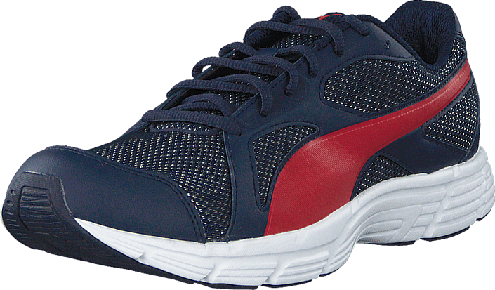 Puma - Axis v4 Mesh Peacoat-High Risk Red