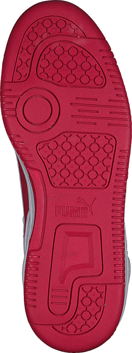 Puma - Puma Rebound Street L Jr White-Rose Red
