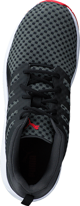 Puma - Flare Black-White-High Risk Red