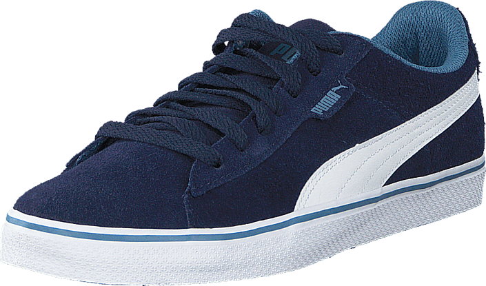 Puma - Puma 1948 Vulc Jr Peacoat-White
