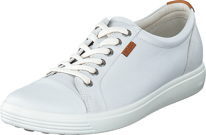 Ecco Soft 7 Ladies Low White