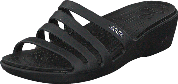 Crocs - Rhonda Wedge Sandal W Black/Black