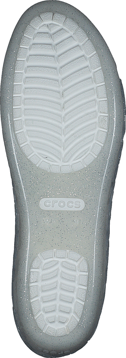 Crocs - Crocs Isabella Jelly Flat W Oyster With Glitter