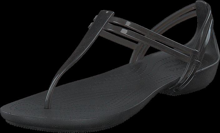 Footway SE - Crocs Crocs Isabella T-strap Black, Skor, Sandaler & Tofflor, Flip Flops, Grå, D 387.00
