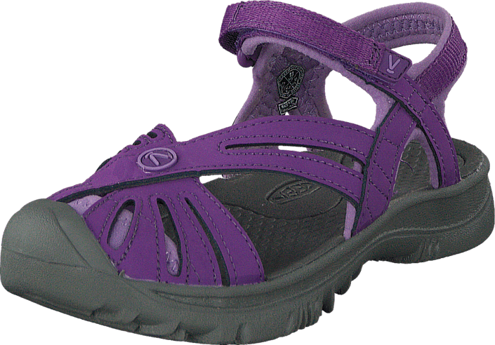 Keen - Rose Sandal-Kids Purple Heart/Gargoyle