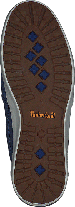 Timberland Newport Bay Canvas Plain Blue/Vintage Indigo