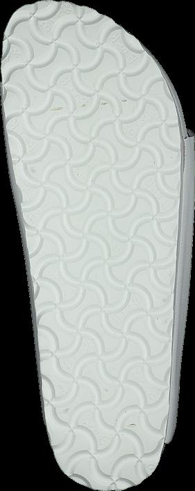 Birkenstock - Monterey Slim Natural Leather White