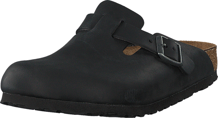Footway SE - Birkenstock Boston Regular Oiled  Leather Black, Skor, Sandaler & Tofflor, Toffl 1097.00