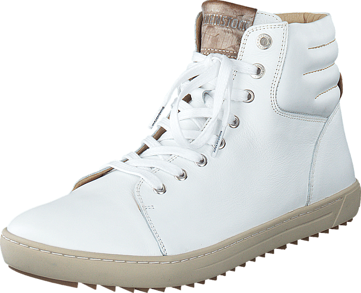 Birkenstock Bartlett Natural Leather White