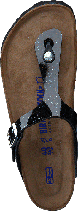 Birkenstock Gizeh Regular Birko-Flor Magic Galaxy Black