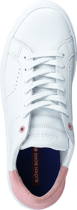 Björn Borg - T200 Low Ctr W White/Pink