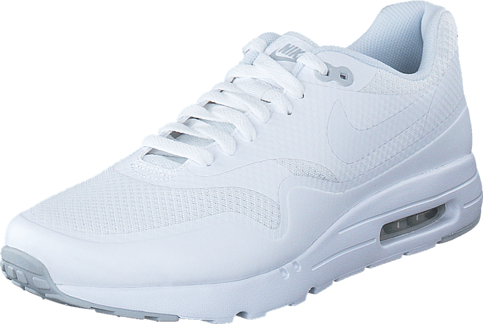 Nike - Nike Air Max 1 Ultra Essential White/White-Pure Platinum