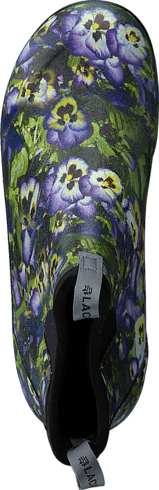 "Lacrosse - Hampton II - Women's 6"" Print Purple Flower"
