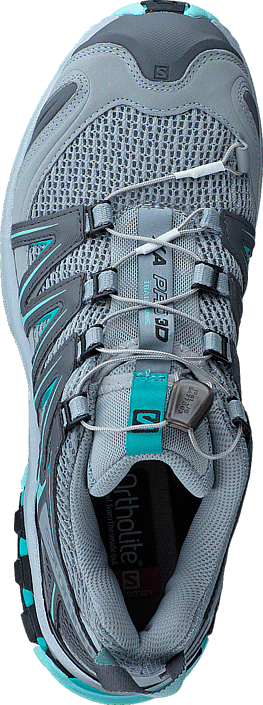 Salomon - XA PRO 3D W Quarry/Pearl Blue/Ablue