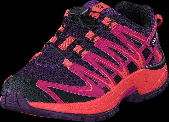 Footway SE - Salomon XA PRO 3D J Cpurple/Deep Dalhia/Coralp, Skor, Sneakers & Sportskor, Walk 647.00