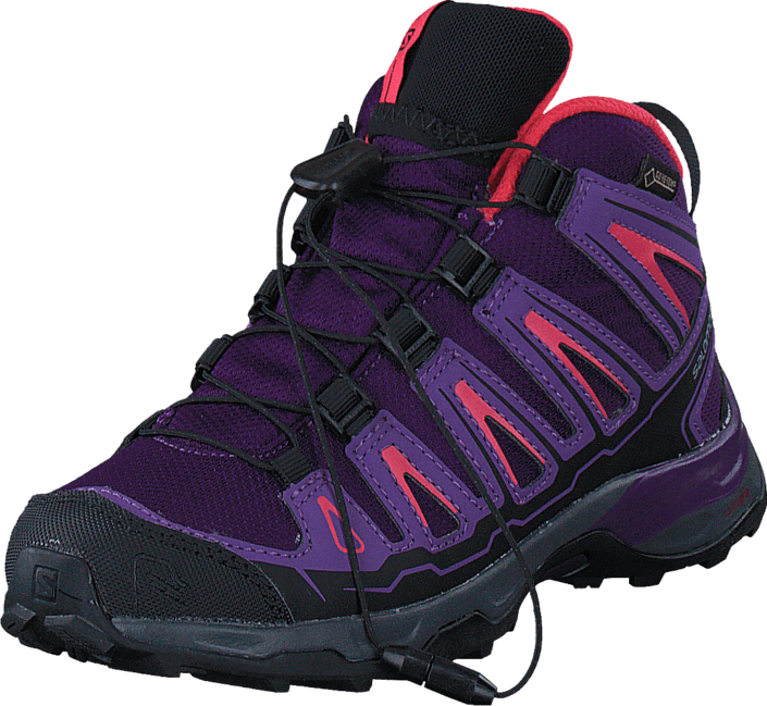 Salomon X-ULTRA MID GTX J Cpurple/Rain Purple/Madder Pin