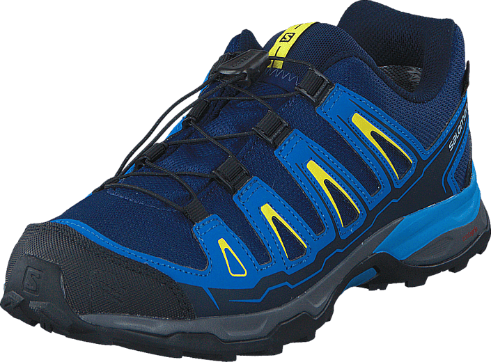 Salomon X-ULTRA GTX J Blue Depths/Cloisonné/Yellow