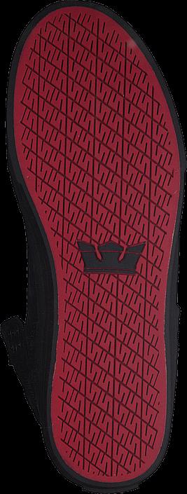 Supra - Skytop Classic Black/Black-Red