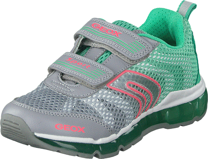 Geox - Android Girl Lt Grey/Mint