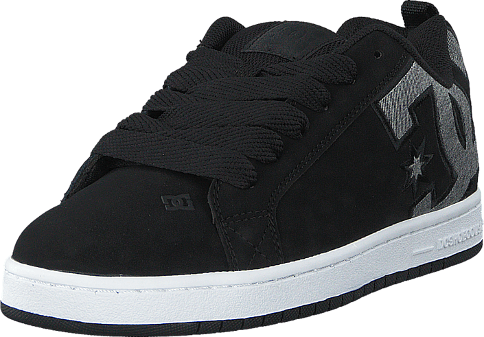 DC Shoes Dc Court Graffik Se Shoe Black Dark Used