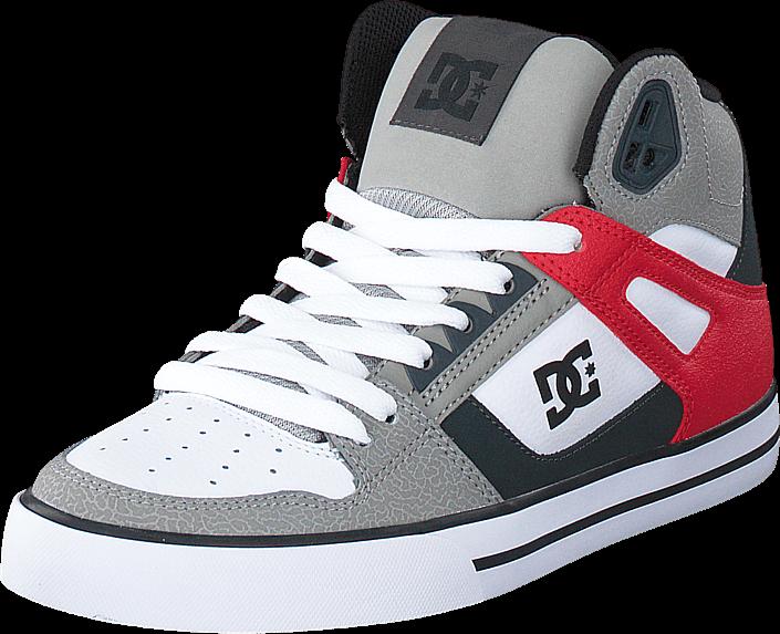 DC Shoes - Dc Spartan Hi Wc Grey/Red/White