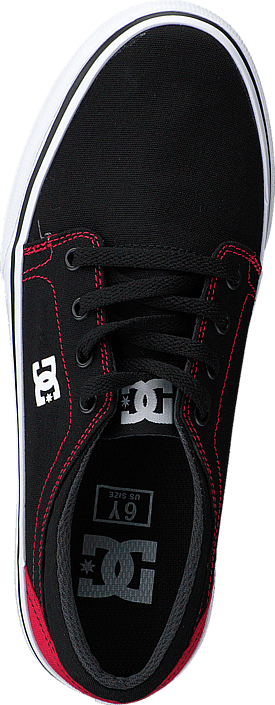 DC Shoes - Dc Kids Trase Tx Shoe Black/Red